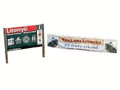 Billboard a reklama Litomyšl