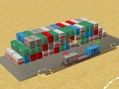 Složiště kontejnerů 20