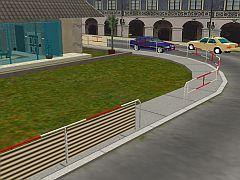 Pouliční zábradlí