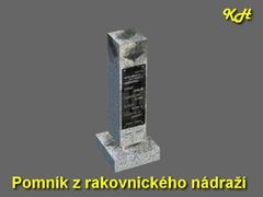 Pomník z Rakovnického náraží