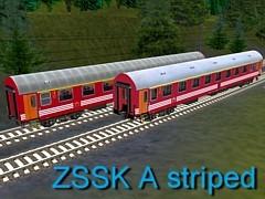 ŽSSK A Striped
