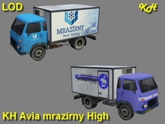 Avia mrazírny High Pack