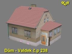 Rodinný dům - Valdek č.p. 238