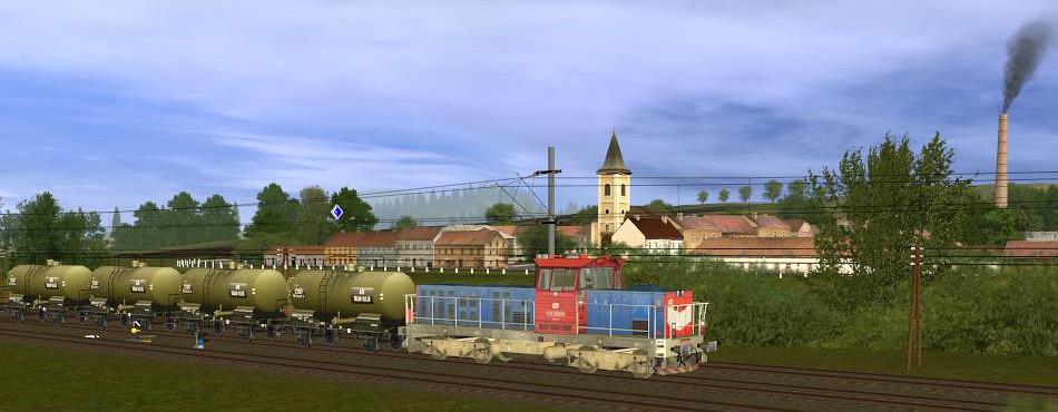 JTT železnice - na vlečce z rafinerie do Holoubkova