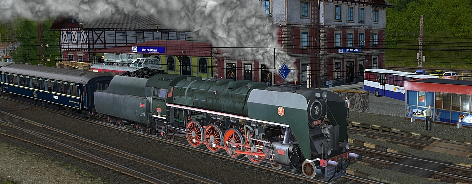 Orient s párou
