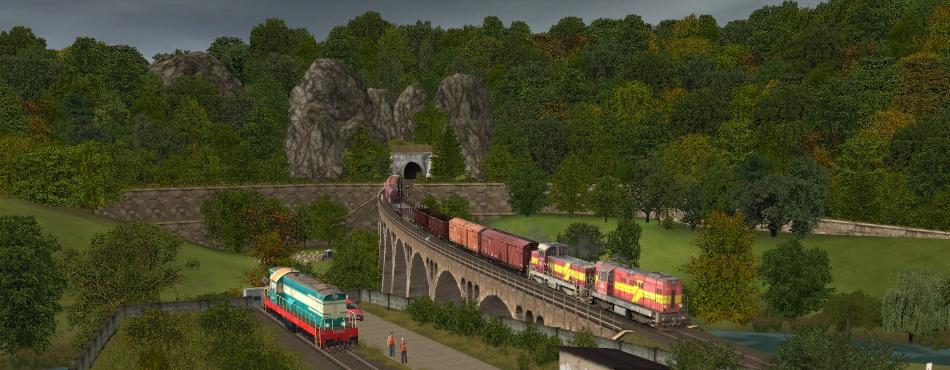 Mn 64648 smeruje do Nižnej nad Lisou cez Lisý viadukt
