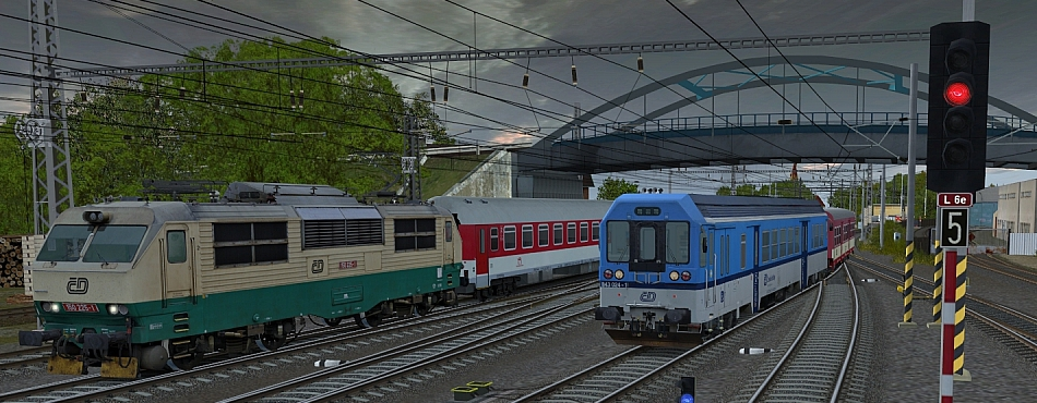 Čilý ruch ve stanici