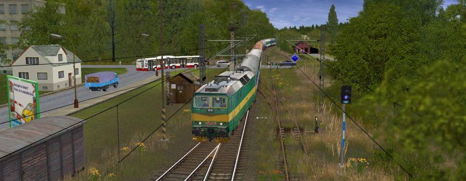 Vjezd do stanice