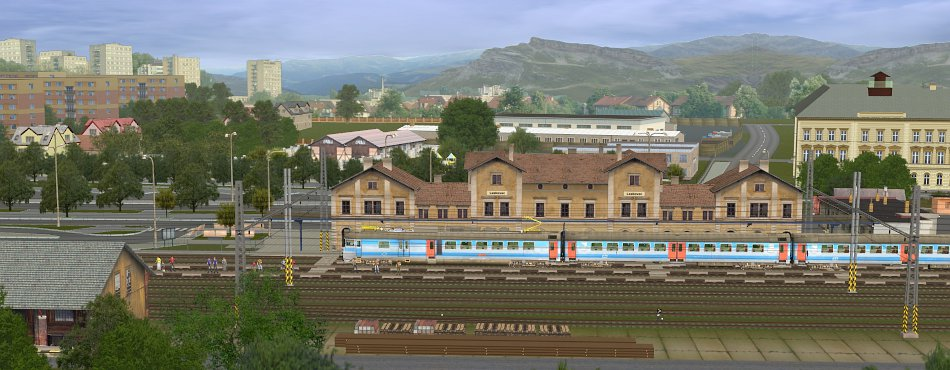 JTT železnice - nová stanice Leskovec